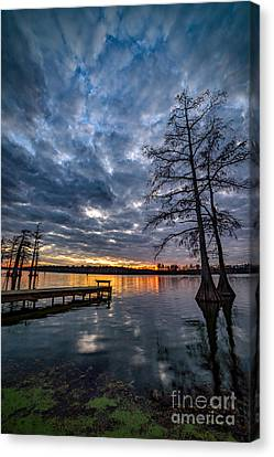 Twilight Reflections Canvas Print by Anthony Heflin