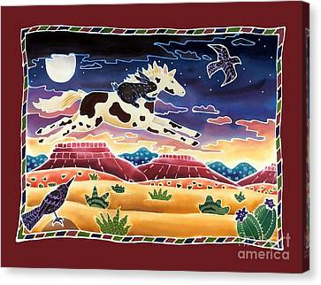 Twilight Ride Canvas Print by Harriet Peck Taylor