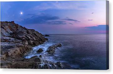 Twilight Sea Canvas Print