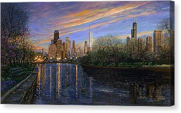 Twilight Serenity Canvas Print by Doug Kreuger