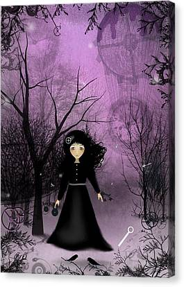Melancholy Canvas Print - Twilight Time by Charlene Zatloukal