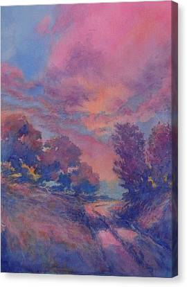 Twilight Time No 2 Canvas Print by Virgil Carter