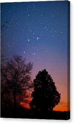 Twilight Transitions Canvas Print