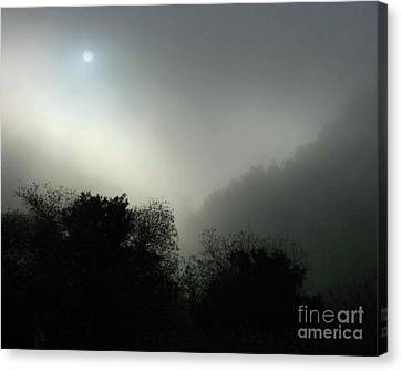 Twilight Valley Of The Moon California Canvas Print by Gus McCrea