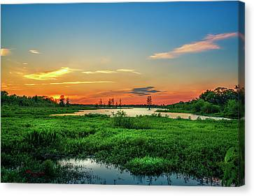 Twilights Arrival Canvas Print by Marvin Spates
