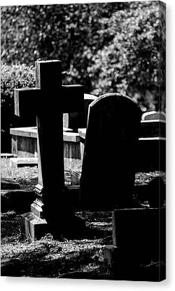 Twin Graves Canvas Print
