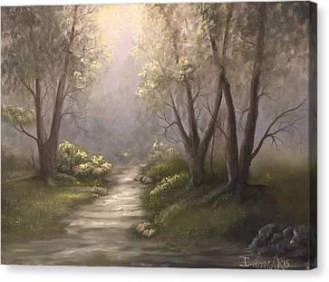 Twin Oaks  Canvas Print