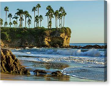 Twin Points Crescent Bay Canvas Print by Kelley King