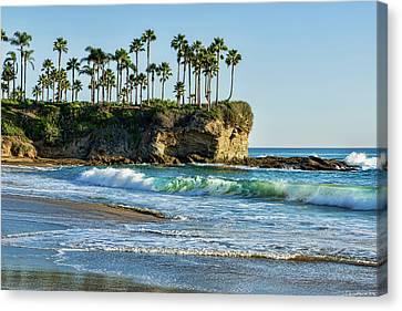 Twin Points Laguna Beach Canvas Print by Kelley King