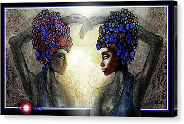 Twin Sisters Canvas Print by Hartmut Jager