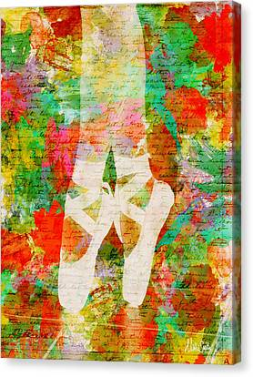 Melody Canvas Print - Twinkle Toes by Nikki Marie Smith