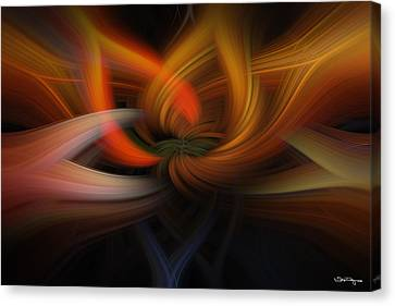 Twirl Abstract Canvas Print