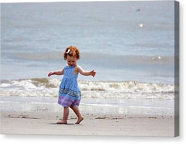 Twirling Canvas Print by Bonnes Eyes Fine Art Photography
