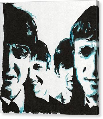 Twist And Shout Canvas Print by Matt Burke