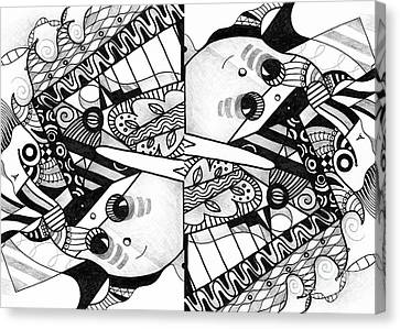 Twisted 3 - An Elements At Play Compilation Canvas Print
