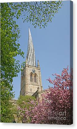 Chesterfield's Twisted Spire Canvas Print