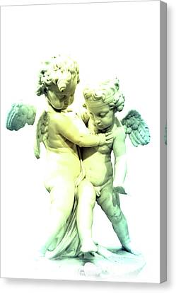 Two Angels Canvas Print by Lali Kacharava
