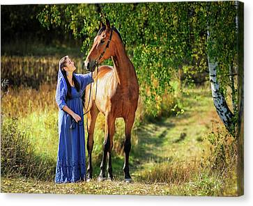 Two Beauties Canvas Print by Vadim Boytsov