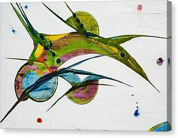Two Birds Canvas Print by Mudrow S