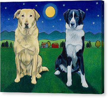 Two Dog Night Canvas Print
