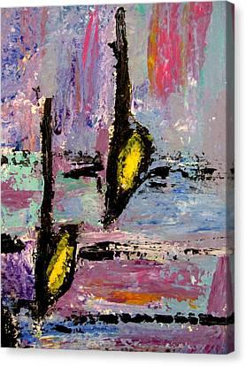 Two Flats Canvas Print by Anita Burgermeister