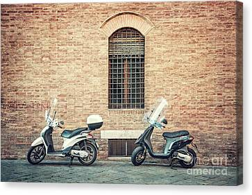Two For The Road Canvas Print