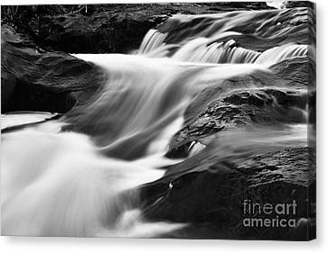 Two Island River Cascade Canvas Print