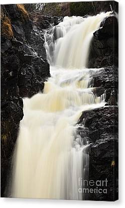 Two Island River Waterfall Canvas Print