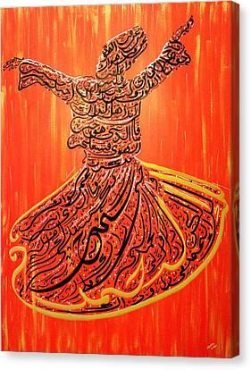 Two Loves Canvas Print by Faraz Khan