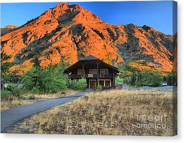 Two Medicine General Store Canvas Print by Adam Jewell