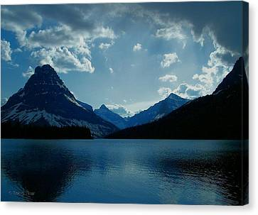 Two Medicine Lake Canvas Print