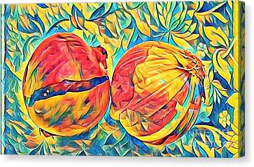 Two Onions Canvas Print