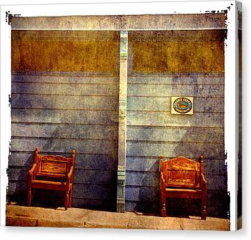Two Seats Are Still Available Canvas Print