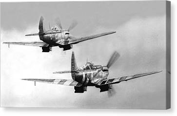 Two Spits Canvas Print by Lyle Brown