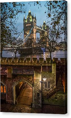 Two Towers Canvas Print by Glenn DiPaola