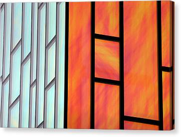 Two Worlds Collide Canvas Print by Jez C Self