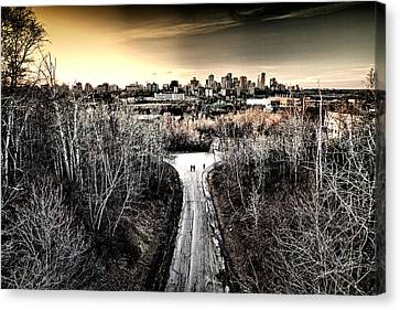 Two's Company Canvas Print by Russell Styles