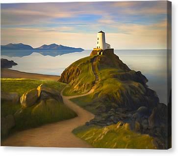 Twr Mawr Light Canvas Print