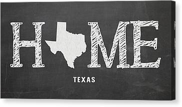 Tx Home Canvas Print