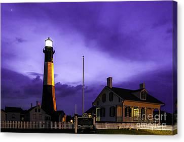 Tybee Purple Haze Canvas Print