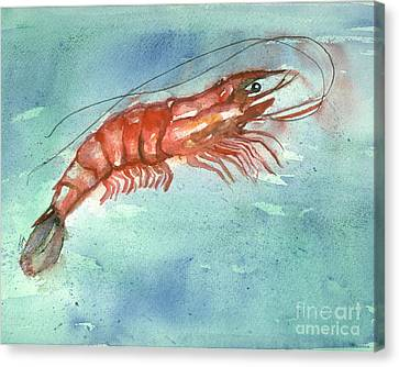 Tybee Wild Shrimp Canvas Print by Doris Blessington