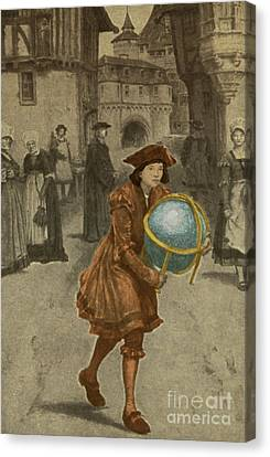 Tycho Brahe, Danish Astronomer Canvas Print by Science Source