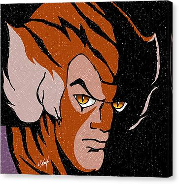 Thundercats Canvas Print - Tygra by Arasaraajah Nathan