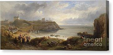 Tynemouth Canvas Print by MotionAge Designs