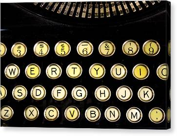 Typewriter Canvas Print by Christopher Woods