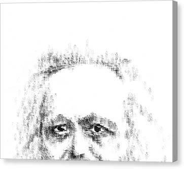 Typewritten Marx 1 Canvas Print by Robert Doerfler