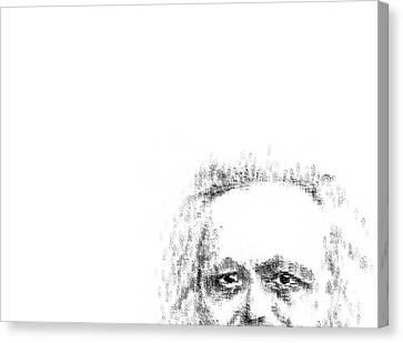 Typewritten Marx 2 Canvas Print by Robert Doerfler