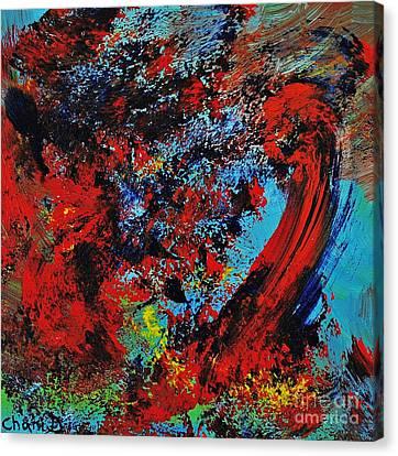 Typhoon Canvas Print by Chani Demuijlder