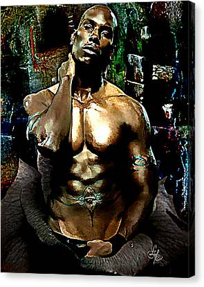 Tyrese  Canvas Print by Lynda Payton
