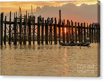 U-bein Bridge Canvas Print by Werner Padarin